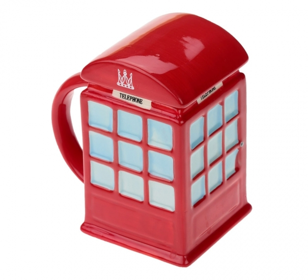 Фото - Кружка Красная телефонная будка купить в киеве на подарок, цена, отзывы