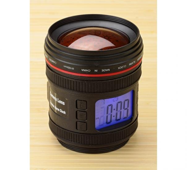 Фото - Будильник-объектив с проектором купить в киеве на подарок, цена, отзывы