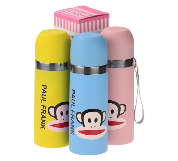 Фото - Термос Обезьяна 3 цвета купить в киеве на подарок, цена, отзывы
