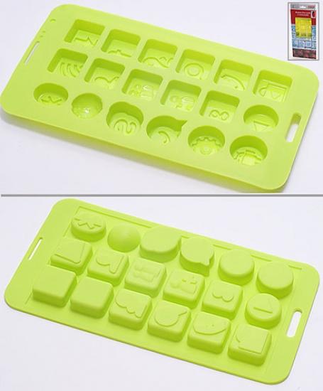 Фото - Форма силиконовая для шоколадных конфет социальные сети купить в киеве на подарок, цена, отзывы