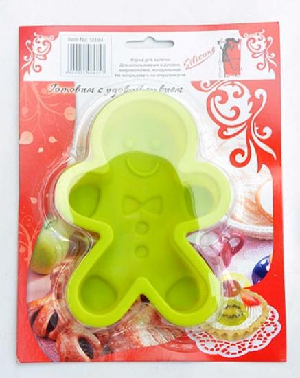 Фото - Форма силиконовая для выпечки человечек купить в киеве на подарок, цена, отзывы