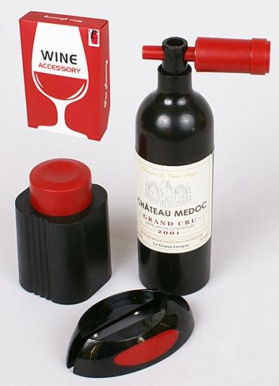 Фото - Винный набор Бутылка с ножом купить в киеве на подарок, цена, отзывы