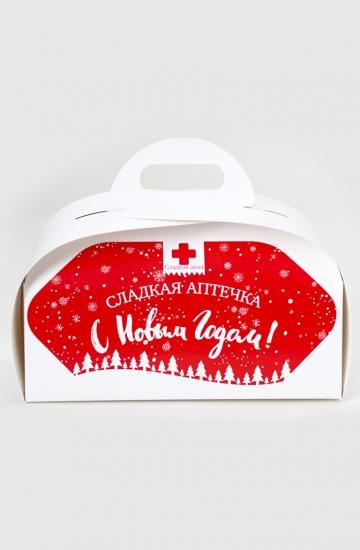 Фото - Сладкая новогодняя аптечка большая купить в киеве на подарок, цена, отзывы