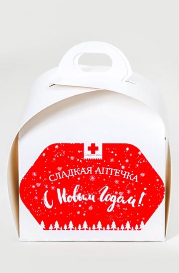 Фото - Сладкая новогодняя аптечка мини купить в киеве на подарок, цена, отзывы