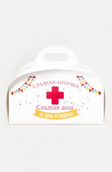 Фото - Сладкая аптечка С Днем Рождения большая купить в киеве на подарок, цена, отзывы