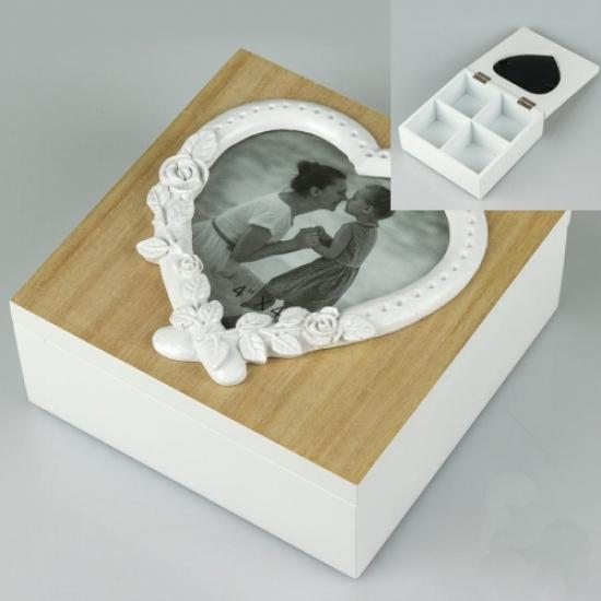 Фото - Деревянная шкатулка Нежность купить в киеве на подарок, цена, отзывы
