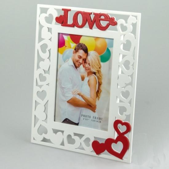 Фото - Деревянная фоторамка Love купить в киеве на подарок, цена, отзывы