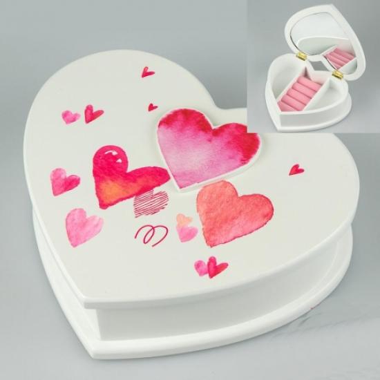 Фото - Деревянная шкатулка Love купить в киеве на подарок, цена, отзывы