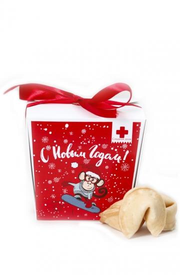 Фото - Печенье с предсказаниями Новый Год купить в киеве на подарок, цена, отзывы