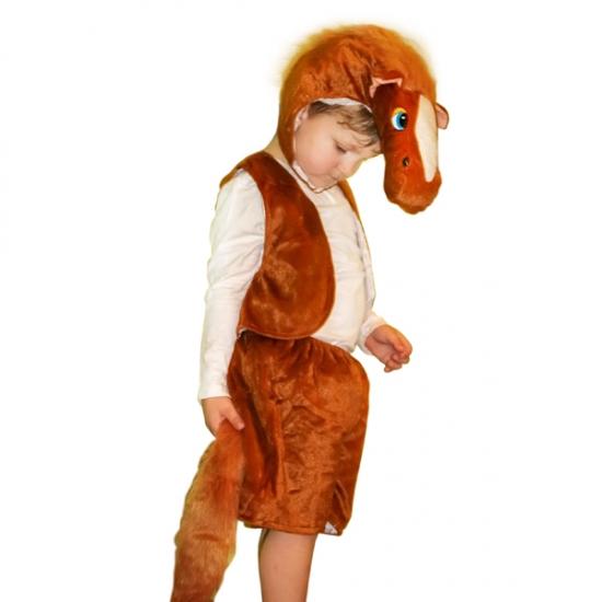 Фото - Детский костюм меховой Лошадь купить в киеве на подарок, цена, отзывы