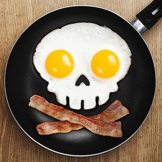 Фото - Форма для жарки яиц череп купить в киеве на подарок, цена, отзывы