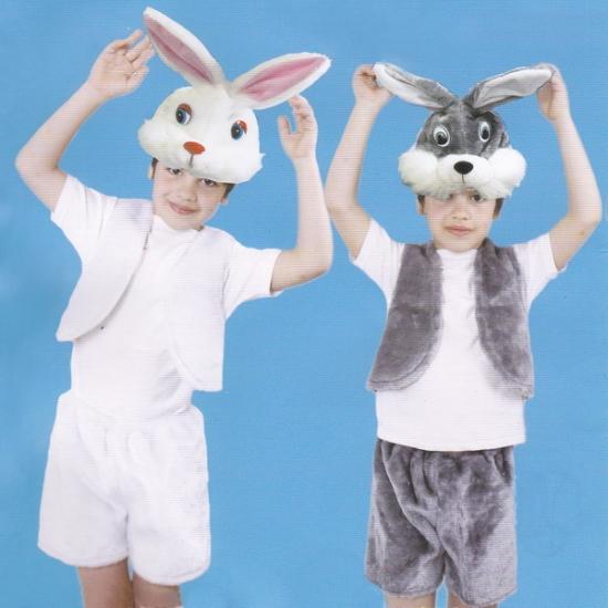 Фото - Детский костюм меховой Заяц серый купить в киеве на подарок, цена, отзывы
