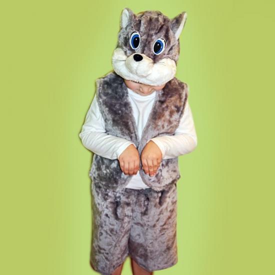 Фото - Детский костюм меховой Кот купить в киеве на подарок, цена, отзывы