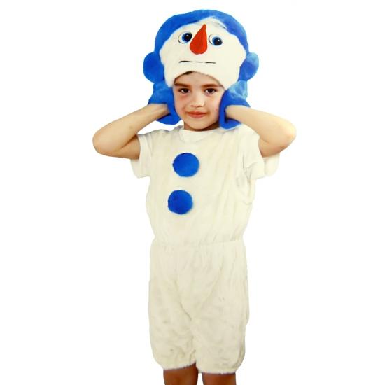 Фото - Детский костюм меховой Снеговик купить в киеве на подарок, цена, отзывы