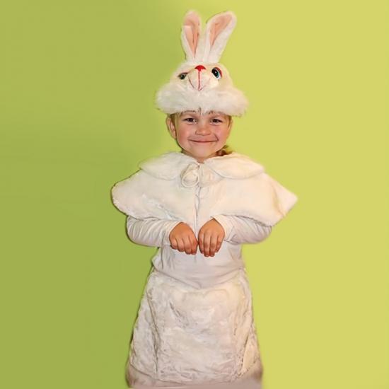 Фото - Детский костюм меховой Зайчиха купить в киеве на подарок, цена, отзывы