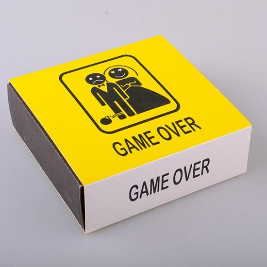 Фото - Набор Game Over пепельница и коробок для спичек 2 шт. купить в киеве на подарок, цена, отзывы