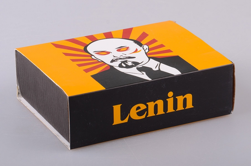 Фото - Набор Lenin (пепельница и коробы для спичек) купить в киеве на подарок, цена, отзывы