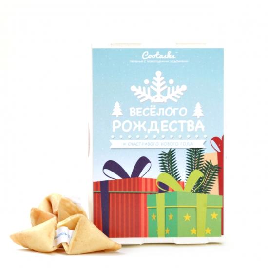 Фото - Печенье с заданиями Веселого Рождества купить в киеве на подарок, цена, отзывы