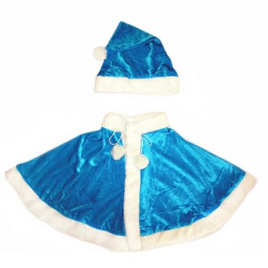 Фото - Комплект Снегурочки Синий цвет  купить в киеве на подарок, цена, отзывы
