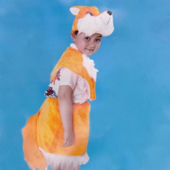 Фото - Детский костюм меховой Лиса купить в киеве на подарок, цена, отзывы