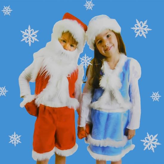 Фото - Детский костюм Снегурочка меховая для малышей купить в киеве на подарок, цена, отзывы