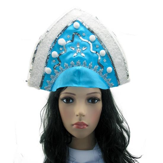Фото - Кокошник Снегурочки зима купить в киеве на подарок, цена, отзывы