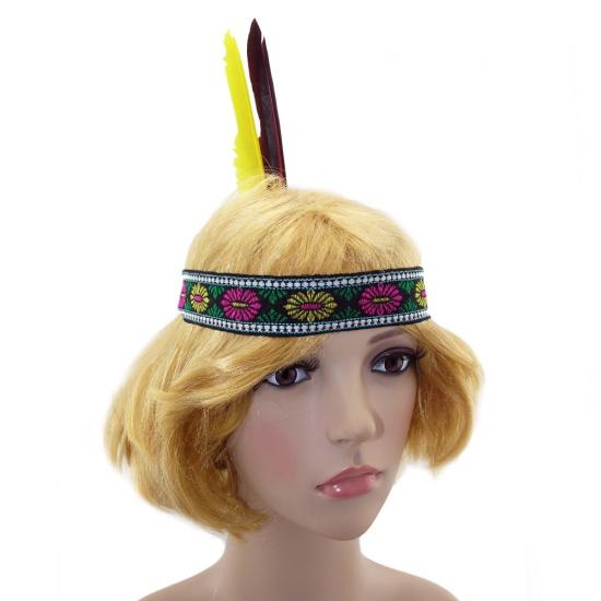 Фото - Повязка индейца с перьями купить в киеве на подарок, цена, отзывы