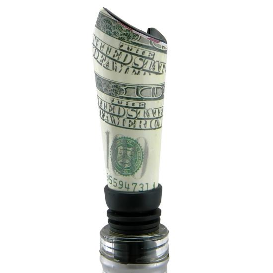 Фото - Пробка для бутылки Доллар купить в киеве на подарок, цена, отзывы