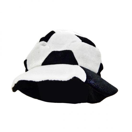Фото - Шапка Футбольный мяч черно-белая купить в киеве на подарок, цена, отзывы