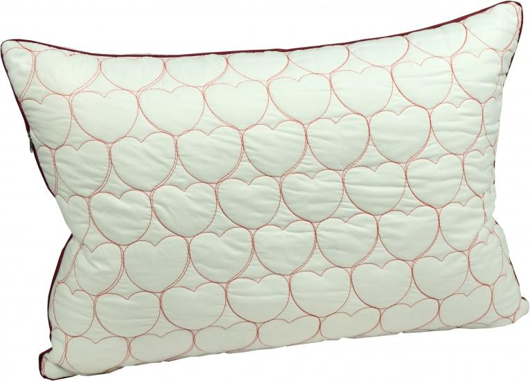 Фото - Подушка с наполнителем силиконовые шарики 50х70 см романтика купить в киеве на подарок, цена, отзывы