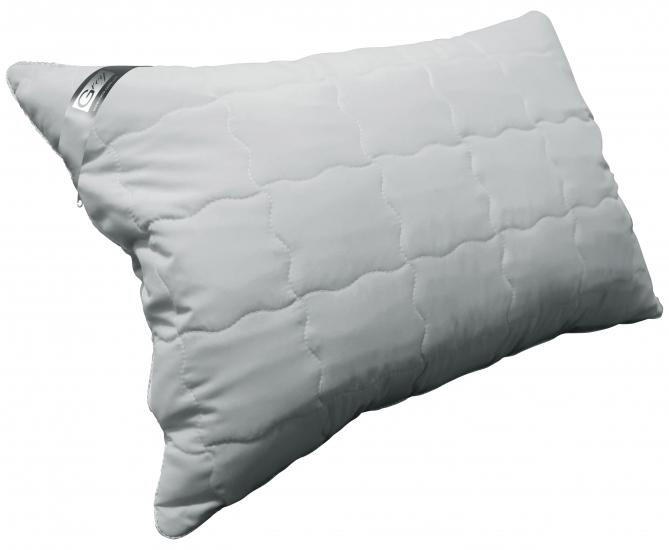 Фото - Подушка с наполнителем силиконовые шарики 50х70 см grey купить в киеве на подарок, цена, отзывы
