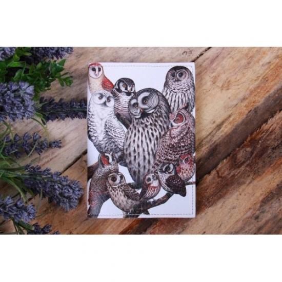 Фото - Обложка на паспорт Совы купить в киеве на подарок, цена, отзывы