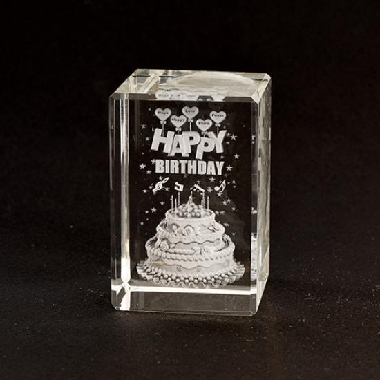 Фото - Лазерная голограмма Happy Birthday купить в киеве на подарок, цена, отзывы