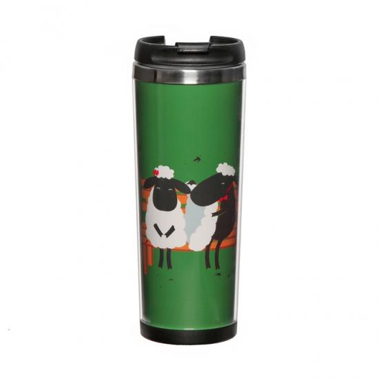 Фото - Термокружка Влюбленные овечки купить в киеве на подарок, цена, отзывы