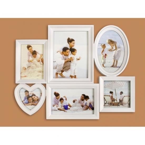 Фото - Фоторамка Семейная на 6 фото Белая купить в киеве на подарок, цена, отзывы