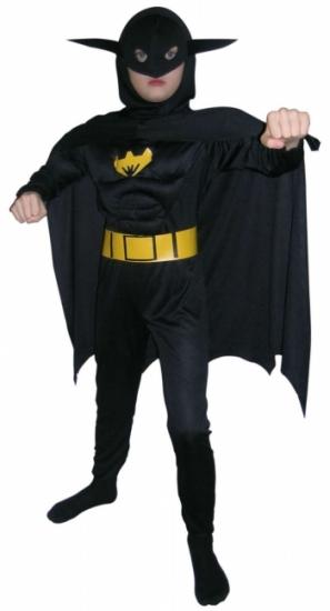 Фото - Детский карнавальный костюм Бетмен фактурный купить в киеве на подарок, цена, отзывы