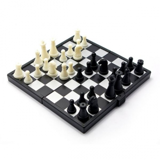 Фото - Шахматы магнитные 16,5х13,5х2 см купить в киеве на подарок, цена, отзывы
