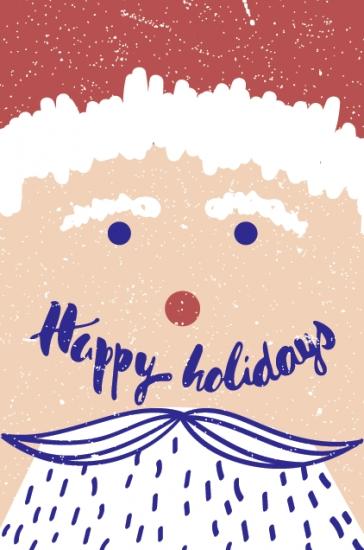Фото - Открытка Happy Holidays купить в киеве на подарок, цена, отзывы
