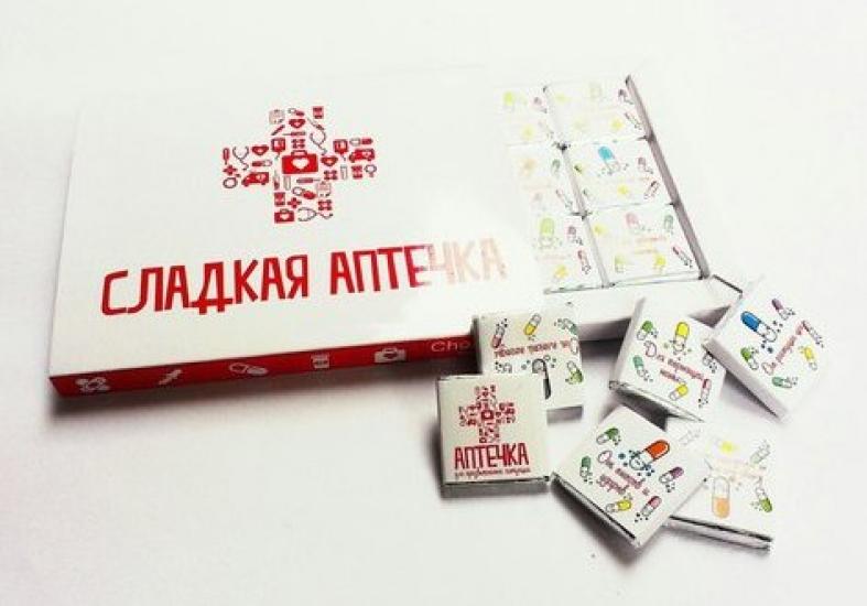 Фото - Шоколадный набор Шоколадная аптечка купить в киеве на подарок, цена, отзывы