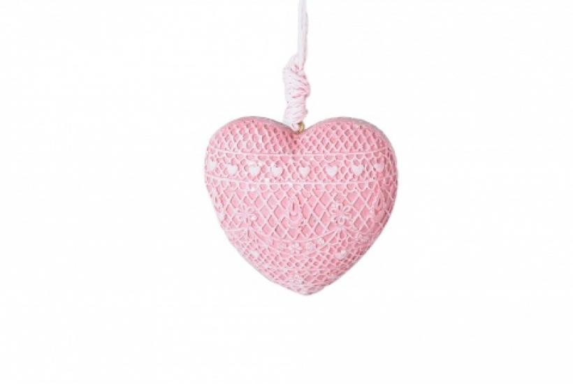 Фото - Декоративное украшение Сердце розовое купить в киеве на подарок, цена, отзывы