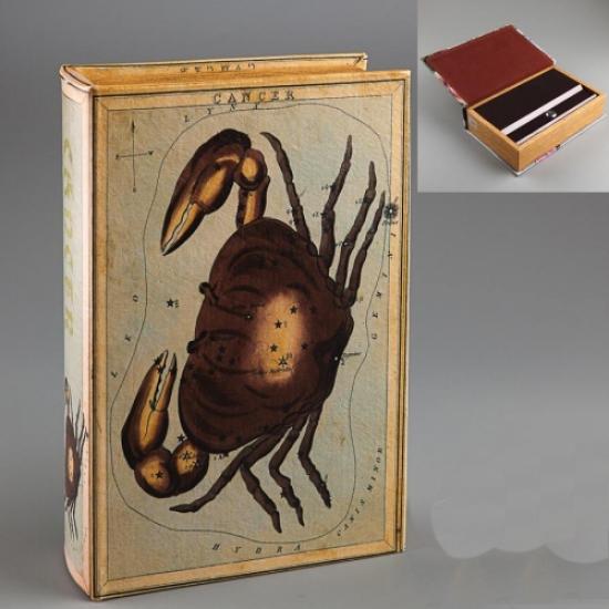 Фото - Книга сейф Краб 27 см купить в киеве на подарок, цена, отзывы