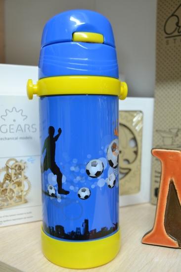 Фото - Термос детский с трубочкой Футбол купить в киеве на подарок, цена, отзывы