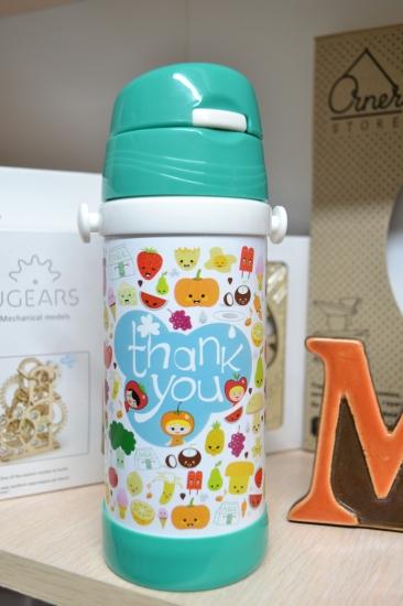 Фото - Термос детский с трубочкой Вкусняшки купить в киеве на подарок, цена, отзывы