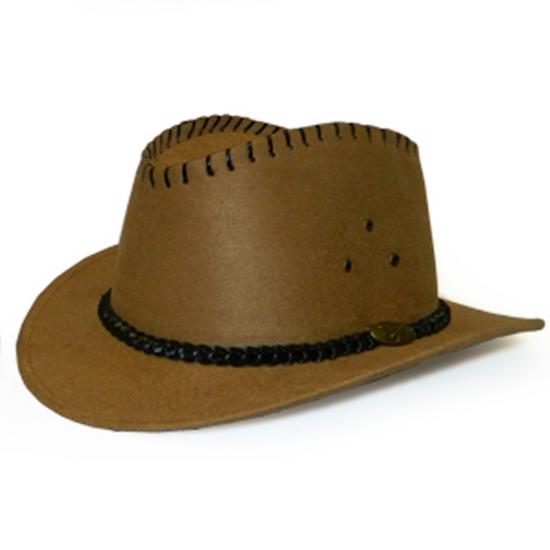Фото - Шляпа Кантри светло-коричневая купить в киеве на подарок, цена, отзывы