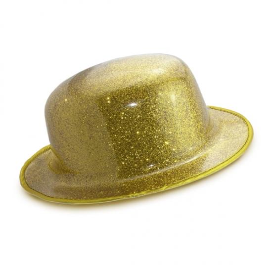 Фото - Шляпа Котелок Пластик Блестящая купить в киеве на подарок, цена, отзывы
