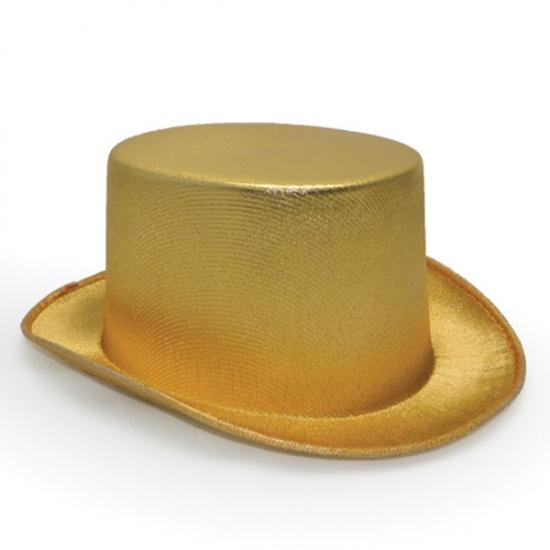 Фото - Шляпа Цилиндр золотая купить в киеве на подарок, цена, отзывы