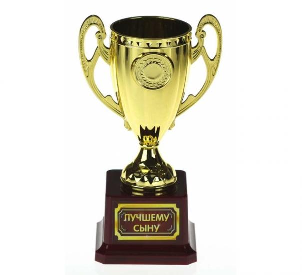 Фото - Кубок Лучшему сыну купить в киеве на подарок, цена, отзывы