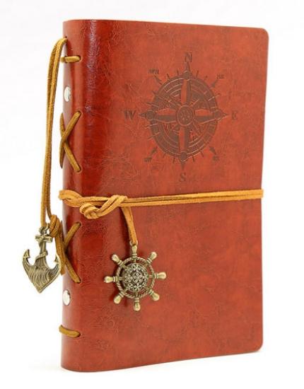 Фото - Винтажный блокнот морской тематики купить в киеве на подарок, цена, отзывы