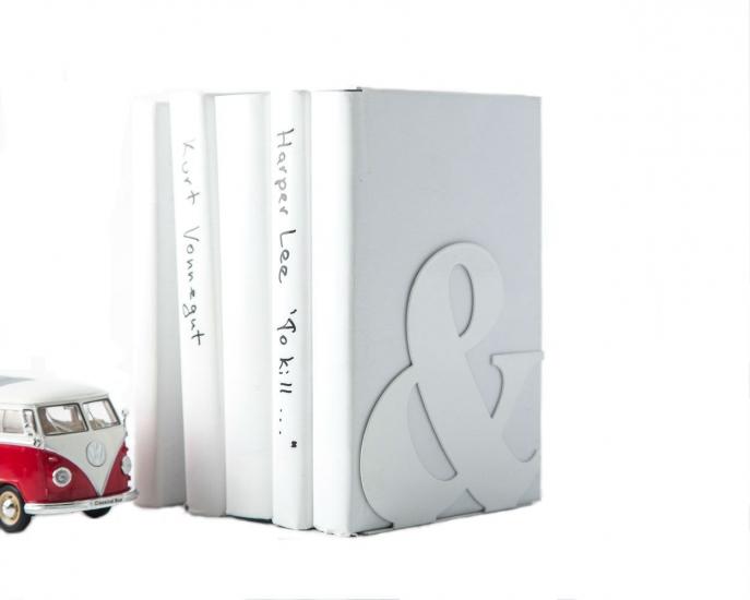 Фото - Держатель для книг Амперсанд белый купить в киеве на подарок, цена, отзывы