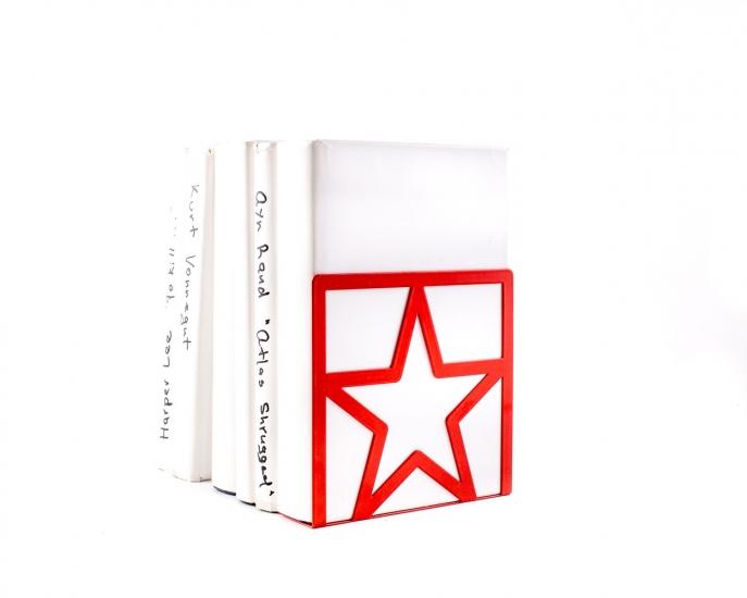 Фото - Держатель для книг Звезда красная купить в киеве на подарок, цена, отзывы